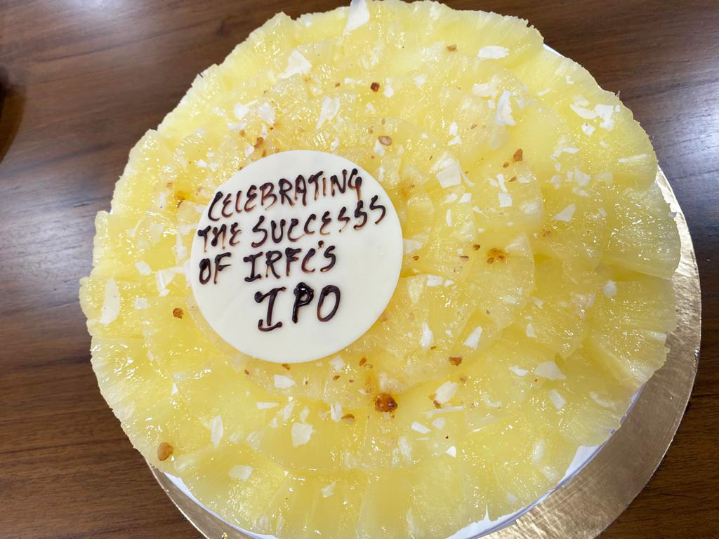 Success of IRFC IPO