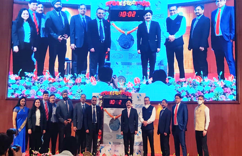 Launch of Railtel IPO
